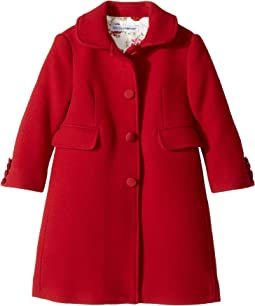 Dolce & Gabbana Kids - Back to School Wool/Cashmere Coat (Toddler/Little Kids)