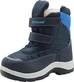 Apakowa Kid's Boys Winter Snow Boots (Toddler/Little Kid)