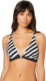 Duskii Women's Salsa Stripe Bikini Top