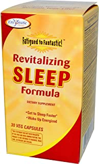 Enzymatic Therapy Revitalizing Sleep Formula - 30 Veg Capsules