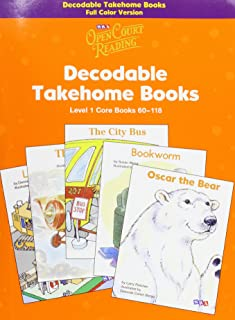 Open Court Reading Decodable Takehome Books: Level 1 Core Books 60-118