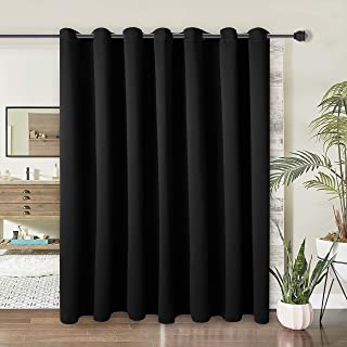WONTEX Room Divider Curtain- Privacy Blackout Curtains for Bedroom Partition, Living Room and Shared Office, Thermal Insu...