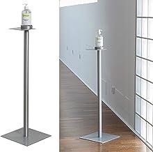 IPEA Elegante flessenhouder van aluminium IPESAN-ijzeren zuil voor hygiënische geldispenser kleur zilver mat, hoogte 90 mm