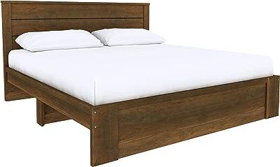 Amazon Basics Sofia Tête de lit plate, style classique - Lit king size, Bois