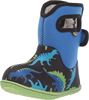 Bogs Baby Bogs Waterproof Insulated Toddler/Kids Rain Boots for Boys and Girls