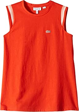 Sleeveless Athleisure Tee Shirt (Toddler/Little Kids/Big Kids)