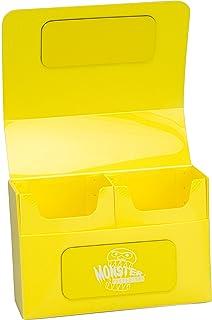 Monster Protectors (モンスタープロテクター) ダブルデッキケース マグネットタイプ (Yellow 黄色)
