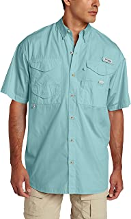 Columbia Men's Bonehead Short-Sleeve Work Shirt, Comfortable and Breathable
