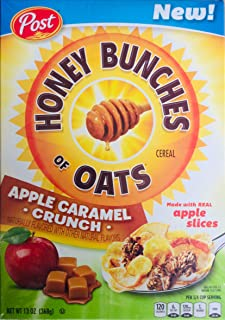 Honey Bunches of Oats Apple Caramel Crunch Cereal 13 Ounce (Pack of 2)