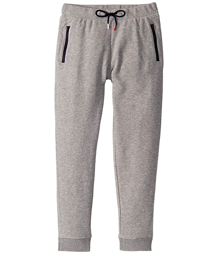 Tommy Hilfiger Adaptive  Knit Pant with Elastic Waist (Little Kids/Big Kids) (Grey Heather) Womens Casual Pants