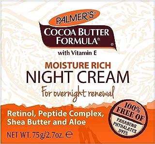 Palmer's Cocoa Butter Formula Overnight Moisture Rich Night Facial Cream   2.7 Ounces (Pack of 6)