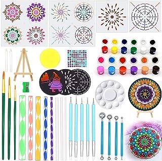 Mandala Dotting Tools, for Painting Rocks,Mandella Art and Drafting Art Supplies