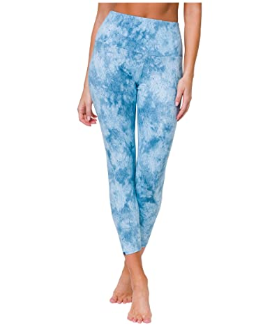 Onzie High Basic Midi Leggings (Water) Women