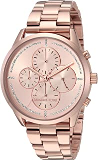 Michael Kors Womens Quartz Watch, Chronograph Display and Stainless Steel Strap MK6521
