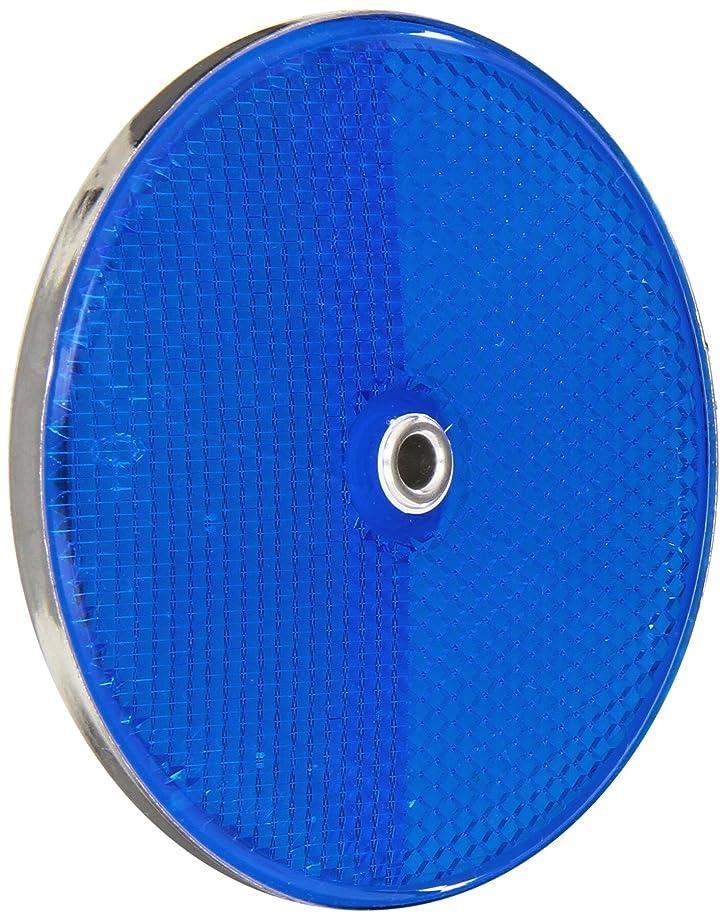 Tapco RT-90 Aluminum Centermount Reflector with Aluminum Grommet, 3-1/4