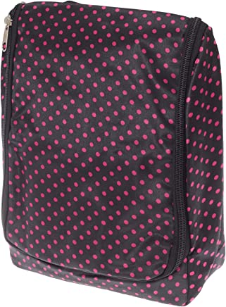 Womens/Ladies Patterned Travel Toiletries Bag (UK Size: One Size) (Dots)