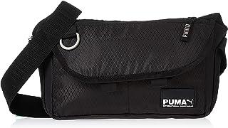 PUMA Mens Street Messenger S Crossbody Bag, Black - 07784101