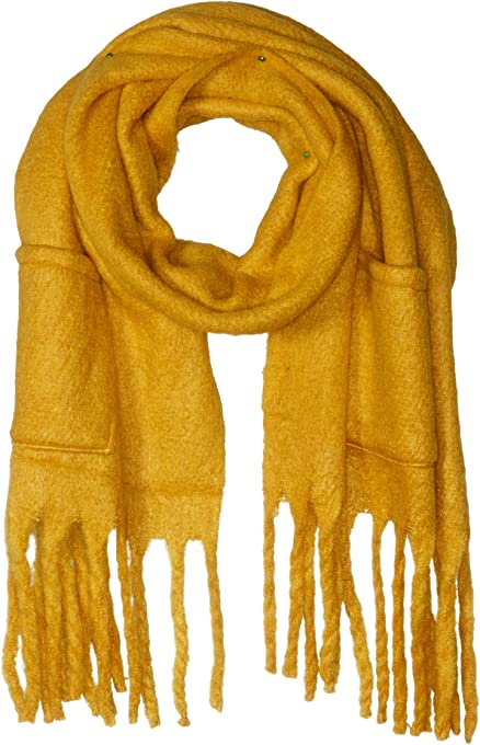 Steve Madden Women's Super Soft Muffler with Pockets