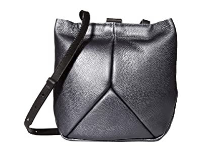 ECCO Ella Crossbody (Magnet Metallic) Cross Body Handbags