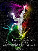 Cursive Handwriting Practice Workbook for Teens
