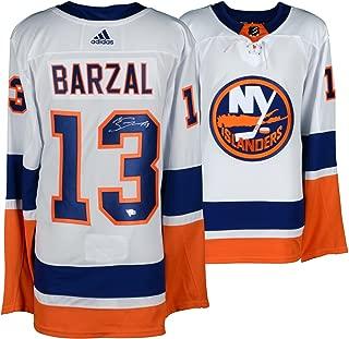 Mathew Barzal New York Islanders Autographed White Adidas Authentic Jersey - Fanatics Authentic Certified