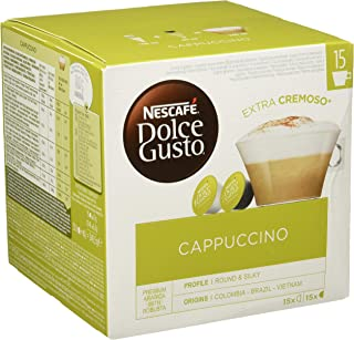 Nescafé Dolce Gusto Cappuccino - Café Gourmand - 90 Capsules (Pack de 3 boîtes XL x 30)