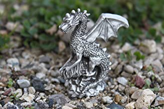 Hastings Pewter Company Lead Free Pewter Dragon Figurine statue small decoration
