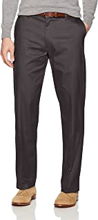 LEE Men's Total Freedom Stretch Relaxed Fit Flat Front Pant