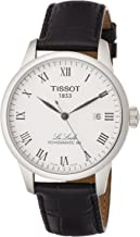 TISSOT Mens Analogue Automatic Watch with Leather Strap T0064071603300