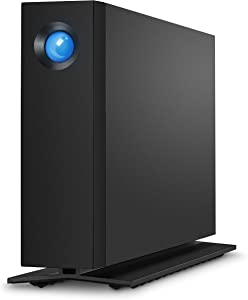 LaCie d2 Professional 10TB External Hard Drive Desktop HDD – USB-C USB 3.0 7200 RPM Enterprise Class Drives, 5 Year Warranty and Recovery Service (STHA10000800)