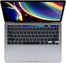 "Apple 13"" MacBook Pro with Touch Bar, 10th-Gen Quad-Core Intel Core i7 2.3GHZ, 32GB RAM, 1TB SSD, Space Gray (Mid 2020)"