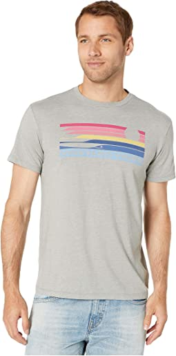938a8053a Gray Heather. 11. Vineyard Vines. Short Sleeve Surf Stripe Island Tee.  $42.00