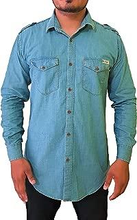 Men's Regular Fit Denim Shirts