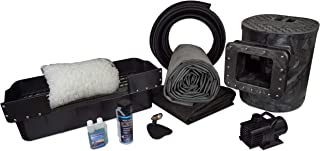 HALF OFF PONDS Savio Select 3000 Complete Water Garden and Pond Kit, with 15 x 20 Foot EPDM Rubber Liner