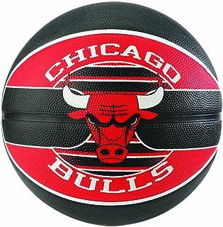 Spalding NBA Team Chicago Bulls Ball Balón de Baloncesto, Unisex Adulto
