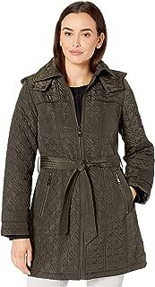 Ladies Houndstooth Wool Coat Australia Winter Jacket Size 6 8 10 12 14 RRP $120