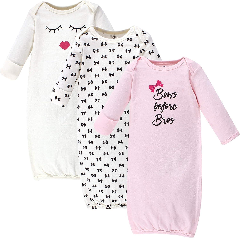 Little Treasure Unisex Baby Cotton Gowns