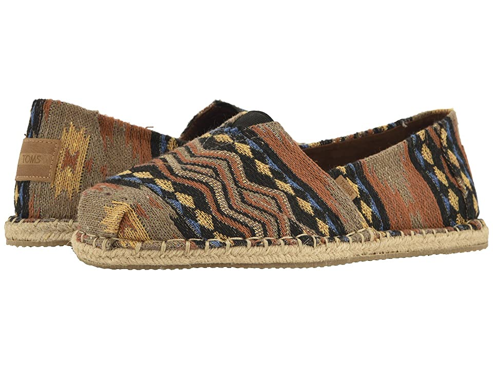 TOMS Venice Collection Alpargata (Inspired Woven Blanket Stitch on Rope) Men