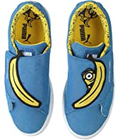 Puma Kids - Minions Basket Wrap Statement Denim (Little Kid)