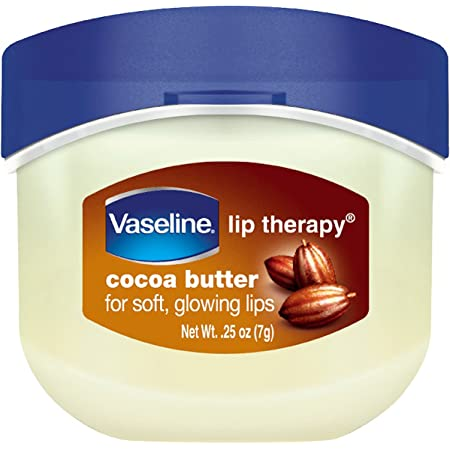 Vaseline Lip Therapy Lip Balm Mini, Cocoa Butter, 0.25 oz