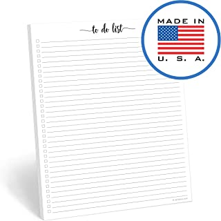321Done to Do List Notepad - 50 Sheets (8.5