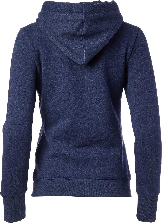 Superdry Women's Orange Label Elite Zip Hoodie Hooded Sweatshirt