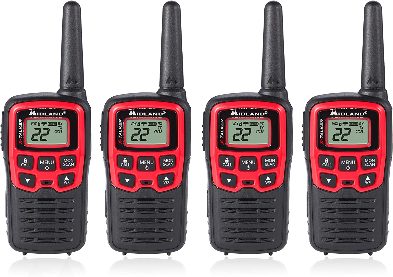 Midland T31VP 22 Channel Ranking TOP13 FRS Walkie Talkie - Range 26 Mile Limited price sale Up to