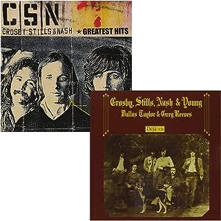 Greatest Hits - Deja Vu - Crosby, Stills, Nash & Young - 2 CD Album Bundling