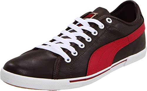 PUMA Men's Benecio Leather Sneaker | Fashion ... - Amazon.com