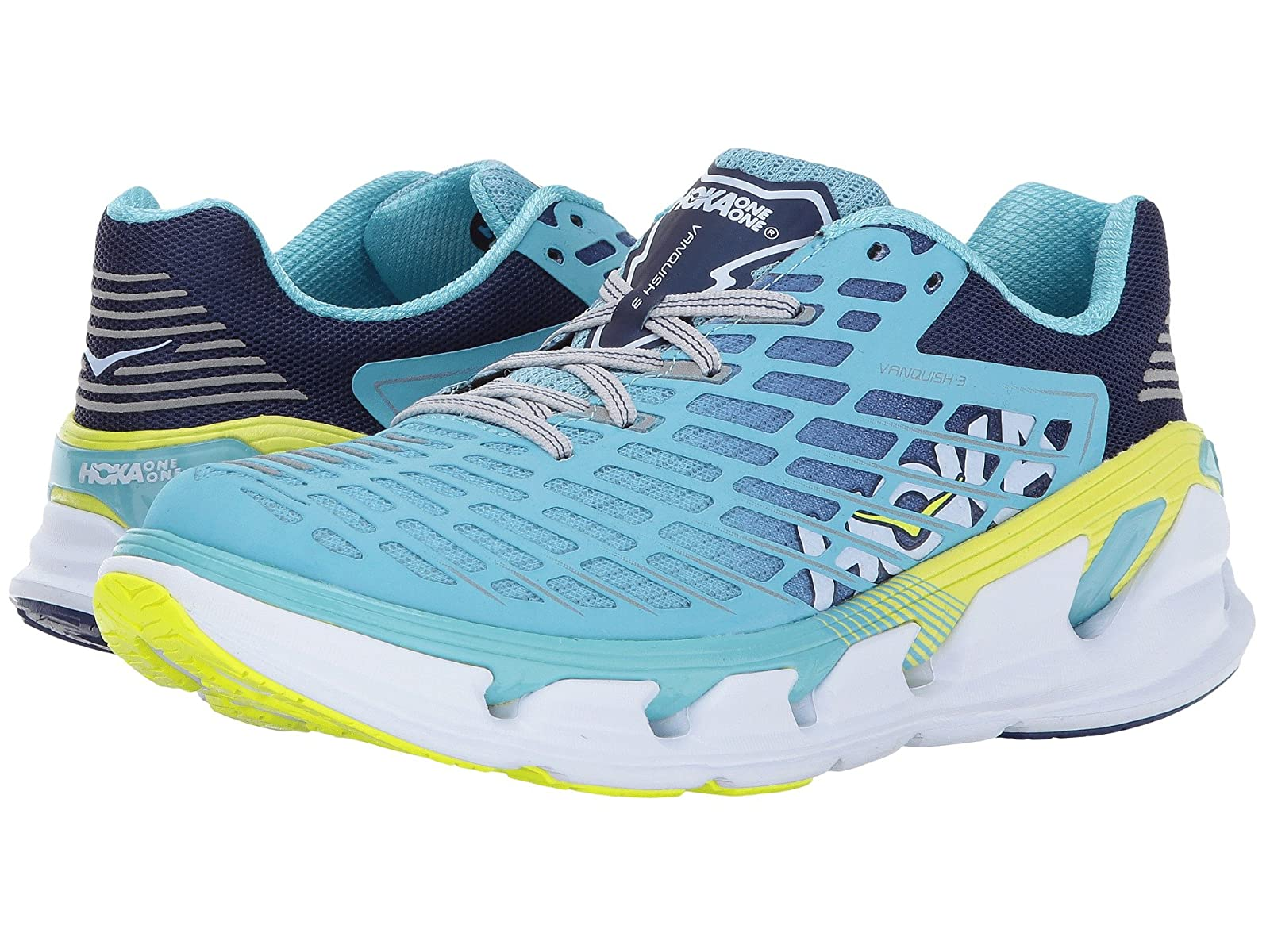Hoka One One Vanquish 3Atmospheric grades have affordable shoes