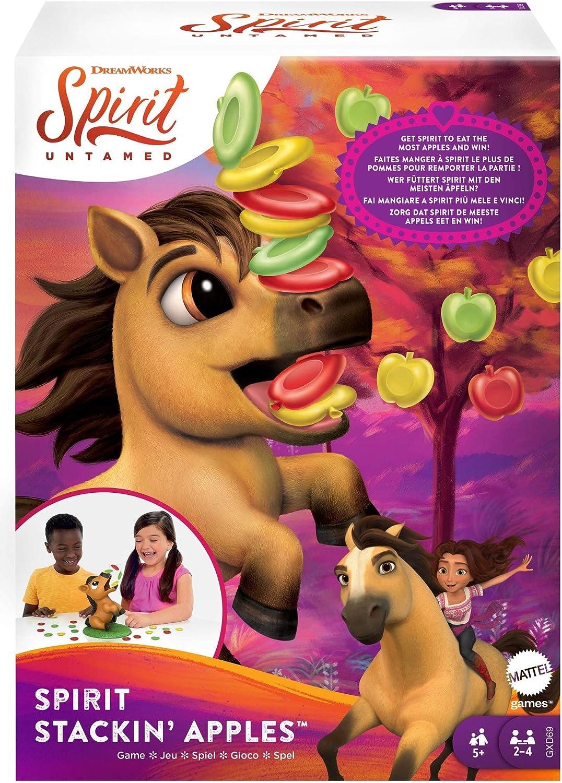 Mattel Spirit Untamed online shop Max 79% OFF Stackin' Apples Treat-Stac Kids Game