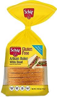 Schar Naturally Gluten-Free Artisan Baker White Bread, 14.1-Ounce Packages (Pack of 6)