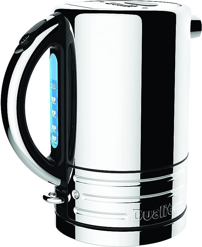 Dualit 72955 Design Series Kettle Black And Steel Renewed