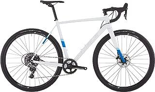 Noble Bikes CX3 Aluminum Cyclocross Bike, 1 x 11 Speed SRAM Rival 1, Arctic White